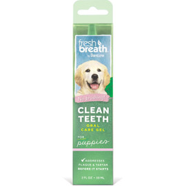 Fresh Breath By TropiClean Oral Care Gel for Puppies