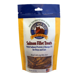 Grizzly Salmon Fillet Dog & Cat Treats