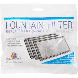 Pioneer Pet Plastic Raindrop Pet Fountain Replacement Filter