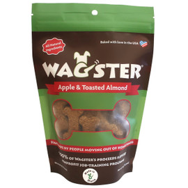 Wagster Apple & Toasted Almond Dog Treats