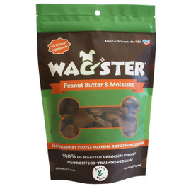 Wagster Peanut Butter & Molasses Dog Treats