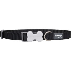 Red Dingo Bucklebone Classic Small Dog Collar - Front