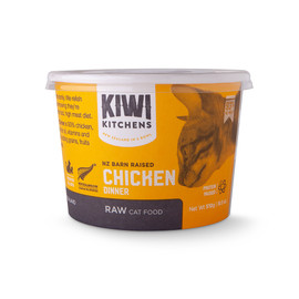 Kiwi Kitchens Chicken Dinner Frozen Raw Cat Food