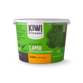 Kiwi Kitchens Lamb With Chicken Dinner Frozen Raw Cat Food