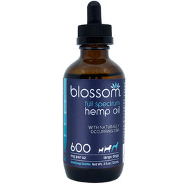 Blossom Full Spectrum Hemp Oil 2400 mg for Large Dogs, 4 fl oz
