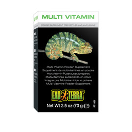 Exo Terra Multi Vitamin Powder Supplement for Reptiles and Amphibians