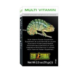 Exo Terra Multi Vitamin Powder Supplement for Reptiles and Amphibians