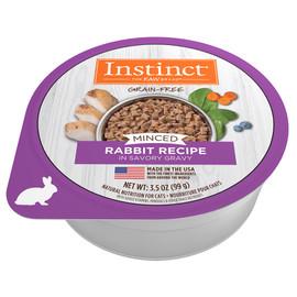 Instinct Minced Rabbit Recipe Wet Cat Food