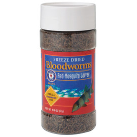 San Francisco Bay Brand Freeze Dried Bloodworms Fish Food