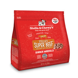 Stella & Chewy's Super Beef Dinner Morsels Frozen Raw Dog Food