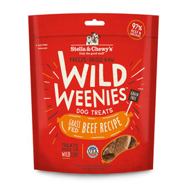 Stella & Chewy's Wild Weenies Grass-Fed Beef Recipe Dog Treats