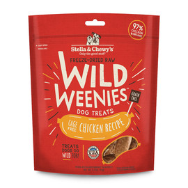 Stella & Chewy's Wild Weenies Cage-Free Chicken Recipe Dog Treats