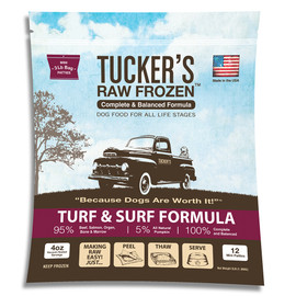 Tucker's Raw Frozen Turf & Surf Recipe Dog Food