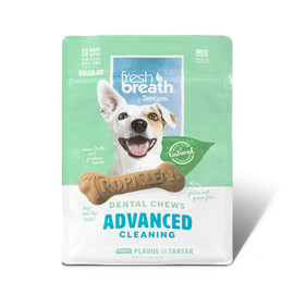 Fresh Breath By TropiClean Advanced Cleaning Dog Dental Chews