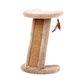 Urban Cat Corner Cat Scratcher with Cardboard Insert