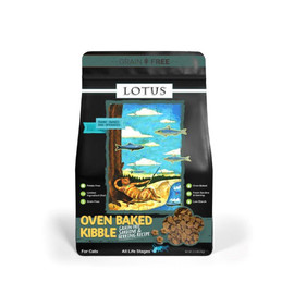 Lotus Oven Baked Grain Free Sardine & Herring Recipe Dry Cat Food