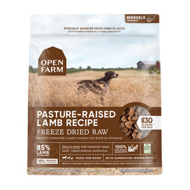 Open Farm Pasture-Raised Lamb Recipe Freeze Dried Raw Dog Food - Front