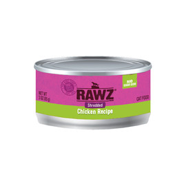 RAWZ Shredded Chicken Recipe Adult Canned Cat Food