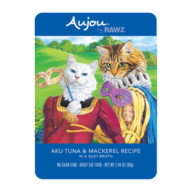 RAWZ Aujou Aku Tuna & Mackerel Recipe Cat Food Pouch