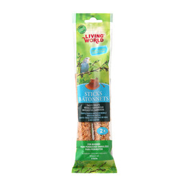 Living World Budgie Honey Flavor Bird Treat Sticks