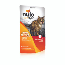 Nulo Freestyle Chicken in Broth Wet Cat Food - Front