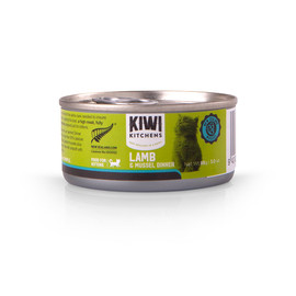 Kiwi Kitchens Lamb & Mussel Dinner Canned Kitten Food - Front