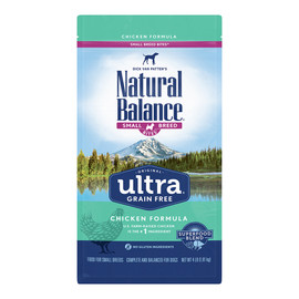 Natural Balance Original Ultra Chicken Formula Small Breed Bites Dry Dog Food