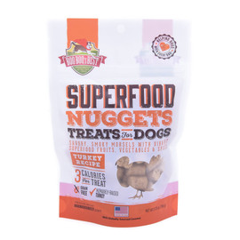 Boo Boo's Best SuperFood Nuggets Turkey Recipe Dog Treats