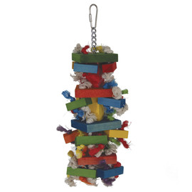 Featherland Paradise Medium Knots Block Bird Toy