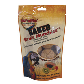 Oven Fresh Bites Birdie Munchies Tropi-Fruit Medley Parrot Bird Treats
