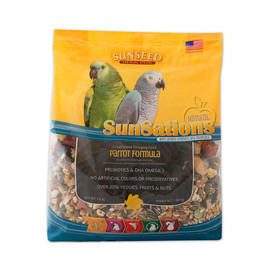 Vitakraft Sun Seed SunSations Natural Parrot Formula Bird Food