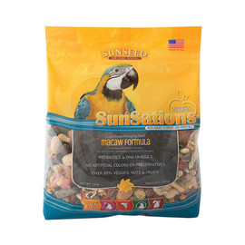 Vitakraft Sun Seed SunSations Natural Macaw Formula Bird Food