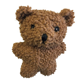 Patchwork Berber Plush Dog Toys