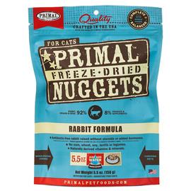 Primal Rabbit Formula Raw Freeze-Dried Cat Food - Front