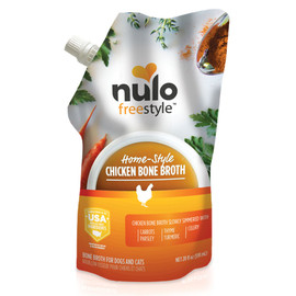 Nulo Freestyle Organic Chicken Bone Broth for Dogs & Cats - Front