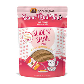 Slide N' Serve Name 'Dat Tuna Dinner Cat Food Pouch