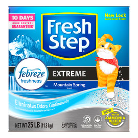 Fresh Step Extreme Scented Clumping Cat Litter