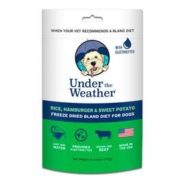 Under The Weather Rice, Hamburger & Sweet Potato Freeze Dried Bland Dog Food