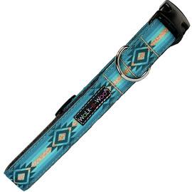 Walk-e-Woo Turquoise Sky Adjustable Dog Collar