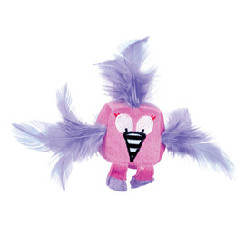 Pet Park Blvd Feathered Flamingo Cat Toy