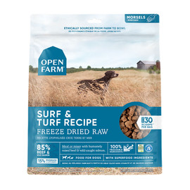 Open Farm Surf & Turf Recipe Freeze Dried Raw Dog Food - Front