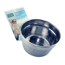 Lixit Stainless Steel Crock Dog Bowl