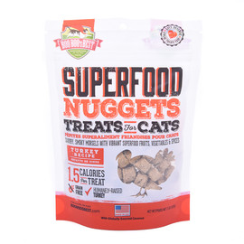 Boo Boo's Best SuperFood Nuggets Turkey Recipe Cat Treats