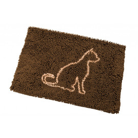 Clean Paws Brown Cat Mat