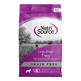 NutriSource Large Breed Puppy Grain Free Dry Dog Food