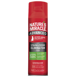Nature's Miracle Advanced Stain & Odor Remover Foam for Cats