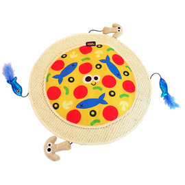 Mad Cat Pizza Purrty Play Mat Cat Toy