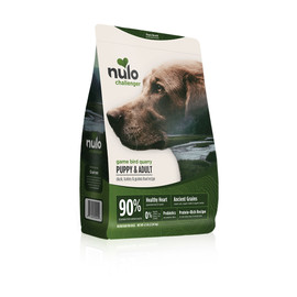 Nulo Challenger Puppy & Adult Duck, Turkey & Guinea Fowl Recipe Dry Dog Food - 4.5 lb