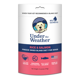 Under The Weather Rice & Salmon Freeze Dried Bland Dog Food