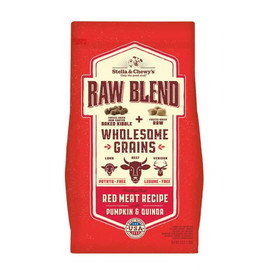 Stella & Chewy's Raw Blend Wholesome Grains Red Meat Recipe Dry Dog Food - 3.5 lb